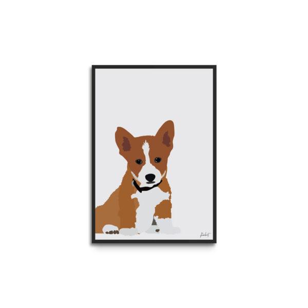 Personlig plakat med kæledyr